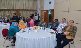 7 pegawai Kementerian Komunikasi dan Informatika yang memasuki Batas Usia Pensiun (BUP) per 1 Maret 2019 pada acara Pelepasan Purnabakti Kominfo (28/2).