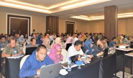 Peserta Undangan Rapat Monitoring dan Evaluasi Isian Capaian Realisasi Anggaran dan Fisik secara online pada Aplikasi Smart DJA dan E-Monev Bappenas  11/4  2019