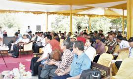 Para Undangan Maritim On The Spot di Kampung Nelayan Karang Song Kabupaten Indramayu  25/9 2019