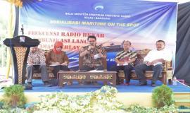 Sosialisasi Maritime On The Spot dengan Tema Frekuensi Radio Benar Komunikasi Lancar Aman Berlayar dengan Menampilkan Para Narasumber dari masing-masing Kementerian 25/9 2019