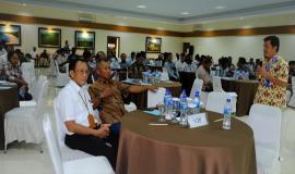 "Direktorat Operasi SDPPI Ade Munandar, selaku Narasumber mengakat tema ""Tertib Penggunaan Spektrum Frekuensi Radio dan Perangkat Telekomunikasi dalam Rangka Keselamatan Pelayaran""13/11/2019"