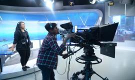 Petugas Kameramen Kompas TV dalam Acara
