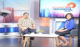 Direktur Jenderal Sumber Daya dan Perangkat Pos dan Informartika (Dirjen SDPPI) Ismail Kegiatan Talkshow di Metro TV dalam Acara