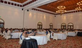 Suasana kegiatan Workshop Aplikasi Sistem Informasi Manajemen dan Akuntansi Barang Milik Negara (SIMAK BMN) dan Persediaan, di Hotel Melia Purosani Yogyakarta (13/3).